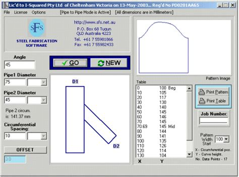 pipe cutting templates pipe cutting patterns free and software reviews