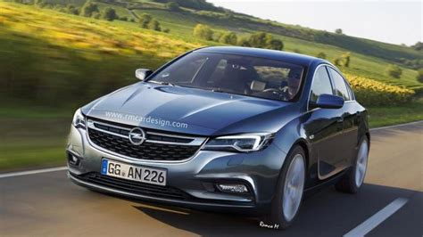 opel insignia 2016 2016 opel insignia rendering previews sleek and sporty sedan