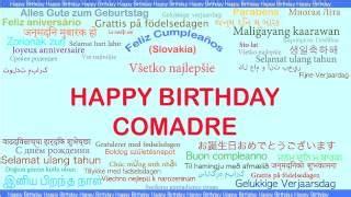 imagenes de happy birthday para una comadre cumplea 241 os comadre