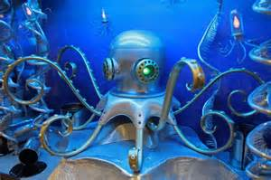 Habitat Chandelier Octopus For Monterey Bay Aquarium Nemo Gould