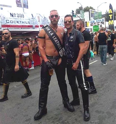 Mr La Boots mr la leather eric leue with jaime