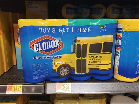clorox disinfecting wipes  pack    walmart     store
