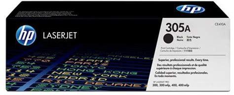 Toner Hp Original 305a Ce410a Black For Pro 300 Color Mfp M375nw Dll hp 305a laserjet toner cartridge black ce410a price