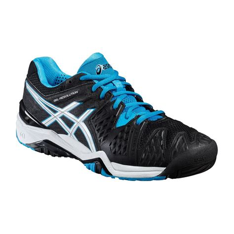 asics gel resolution 6 mens tennis shoes sweatband