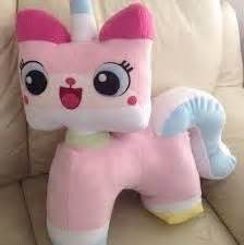 lego unicorn tutorial princess unikitty plush from the lego movie handmade with