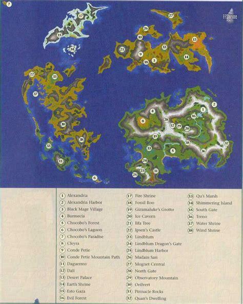 ff9 world map theme 9 ix ff9 world maps