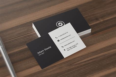 Business Card Template For Affinity Photo by Minimal Business Card Template Business Card Templates