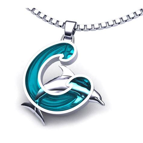 Dolphin Necklace wave of stainless steel dolphin jewelry