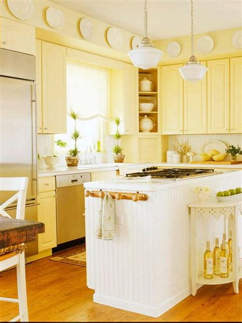butter yellow kitchen cabinets 80 cool kitchen cabinet paint color ideas