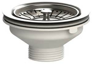 kitchen sink fittings 40mm 1 1 2 quot steel kitchen sink basket strainer waste plug 90mm fitting ebay