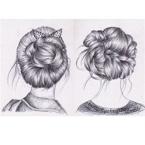 beautiful hairstyles drawing 19 best images about braid drawings on pinterest