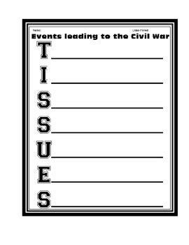 civil war worksheets 5th grade printable civil war tissues worksheet activity printable by