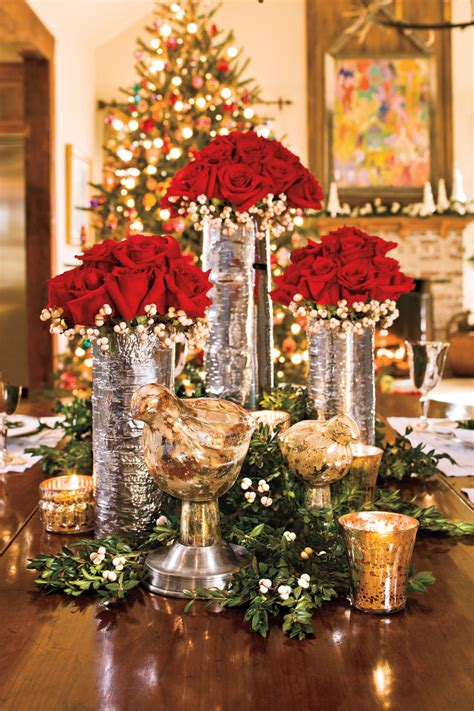 fresh christmas centerpieces 100 fresh decorating ideas southern living