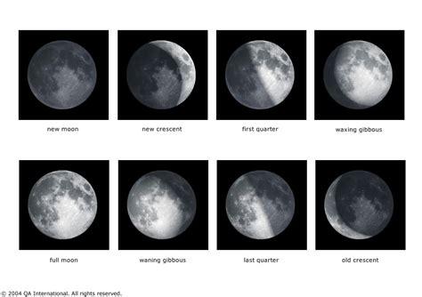 almanaque lunar y sus faces que es la luna y sus fases imagui