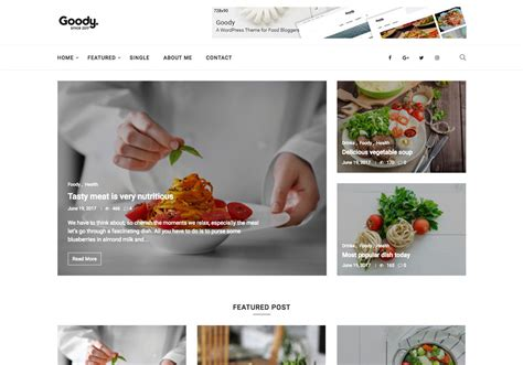 20 best fashion blog magazine wordpress themes 2017 20 best new food wordpress themes for bloggers 2017