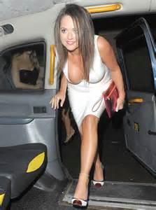 Karen danczuk almost suffers nip slip in dangerously low cut white