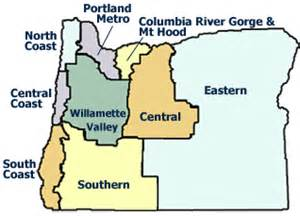 map of willamette valley oregon oregon wines and oregon wineries the guide 2016