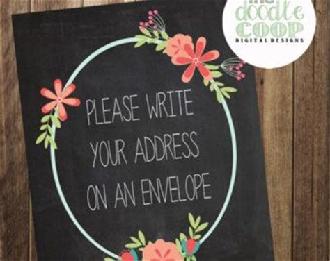 Search Name And Address Bridal Shower Signs Baby Shower Signs And Envelopes On