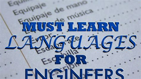 design engineer jobs near me top 9 languages that engineers need to know