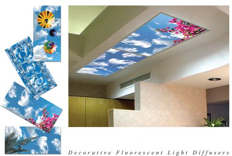 fluorescent light lens covers decorative light lenses