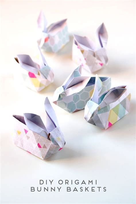 How To Make A Origami Easter Bunny - 1000 ideas about origami on origami origami