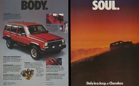 Jeep Ad Vintage Ad 1985 Jeep S And Soul