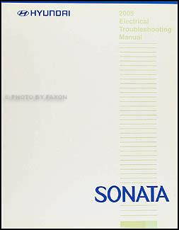 2005 hyundai elantra electrical troubleshooting manual efcaviation com 2005 hyundai sonata electrical troubleshooting manual original