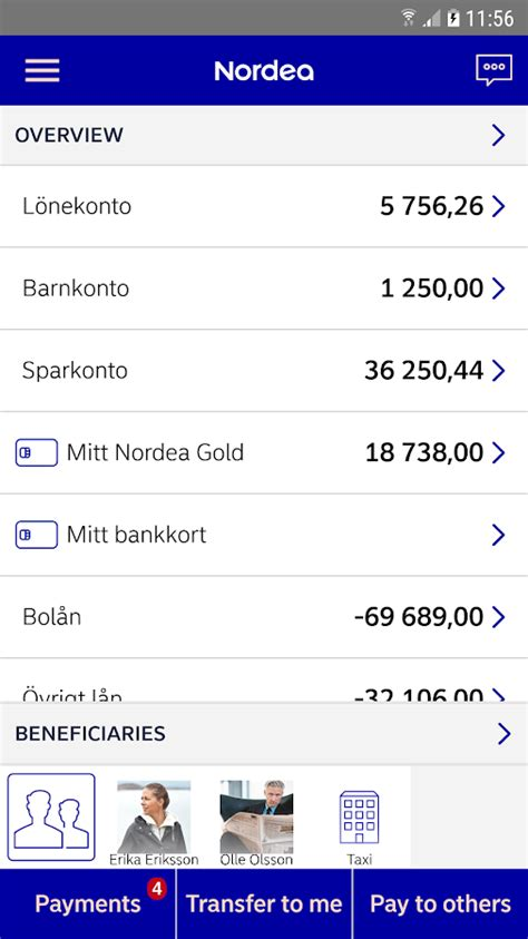 netbank mobile nordea mobile bank sweden android apps on play