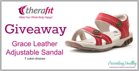 Sandals Giveaway - therafit sandals giveaway