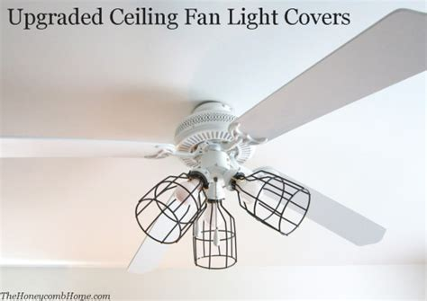 how to put up a ceiling fan ceiling fan light covers the honeycomb home