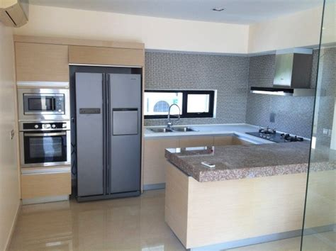 kitchen with white cabinets and built in modern kitchen modern built in kitchen cabinets