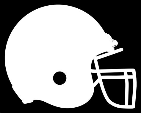 football helmet template american football helmet stencil clipart best