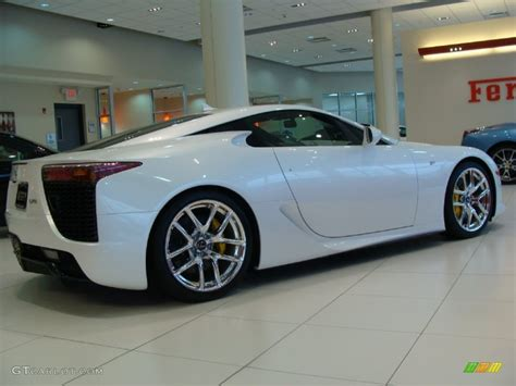 lexus white pearl pearl white 2012 lexus lfa coupe exterior photo 60723808