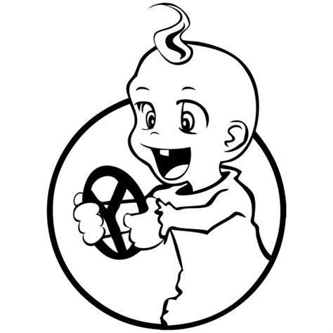 Aufkleber Baby Motive by Aufkleber Der Rennfahrer And Cool Autoaufkleber