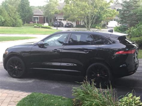 jaguar f pace black jaguar f pace forum cars cars and vehicle