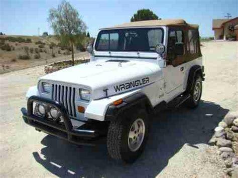 1993 Jeep Wrangler Sport Sell Used 1993 Jeep Wrangler S Sport Utility 2 Door 2 5l