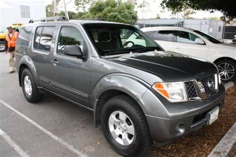 sell used 2006 nissan pathfinder 4dr le suv features sfi