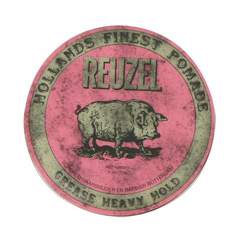 Pomade Reuzel Pink reuzel pink strong heavy hold grease pomade 4oz 113g free