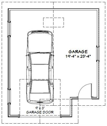 excellent single car garage size 15 with additional house 20x24 1 car garage 20x24g1 456 sq ft excellent
