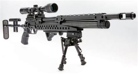 Airsoft Gun Terbaik evanix tactical sniper pcp air rifle 6rds 45 mags sidelever charging adjustable buttstock