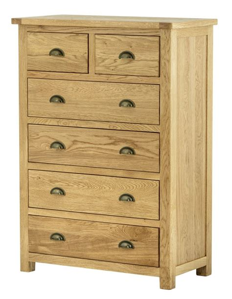 2 4 Chest Of Drawers by Portland Oak 2 4 Chest Of Drawers Great Value
