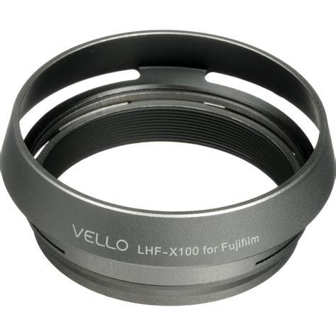 Fujifilm Acc Lens Lh X100 Silver vello lh x100 dedicated lens silver lhf x100 b h photo