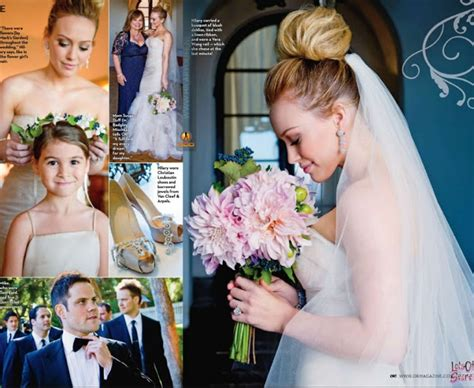 hilary duff and mike comrie wedding photos one of my favorite weddings duff and