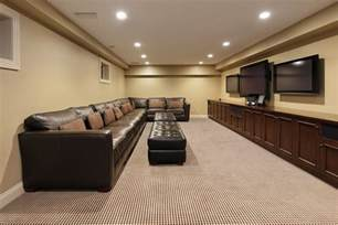 Galerry design ideas for unfinished basement