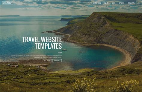 best site for 21 top creative html5 travel website templates 2018 colorlib
