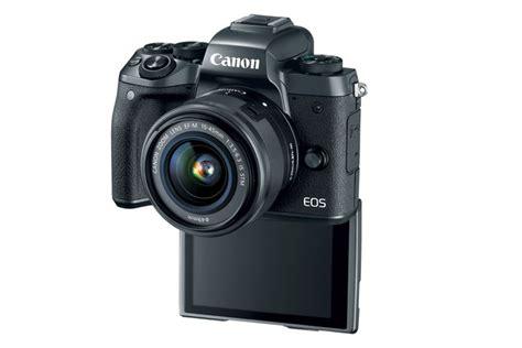 New Kamera Canon Eos M5 Lensa Kit 15 45mm Garansi Resmi Datascrip eos m5 ef m 15 45mm f 3 5 6 3 is stm lens kit canon