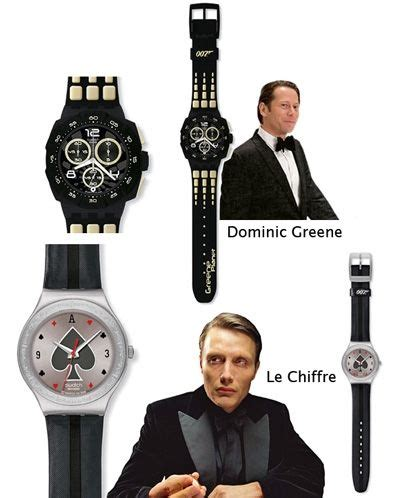Swatch Chrono Salem more throwback swatch 007 villain collection jamesbond