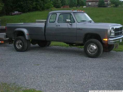 93 dodge dually picking up a 93 dually dodge diesel diesel truck
