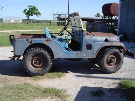 52 Willys Jeep 1952 M38a1 Willys Jeep Buffalo