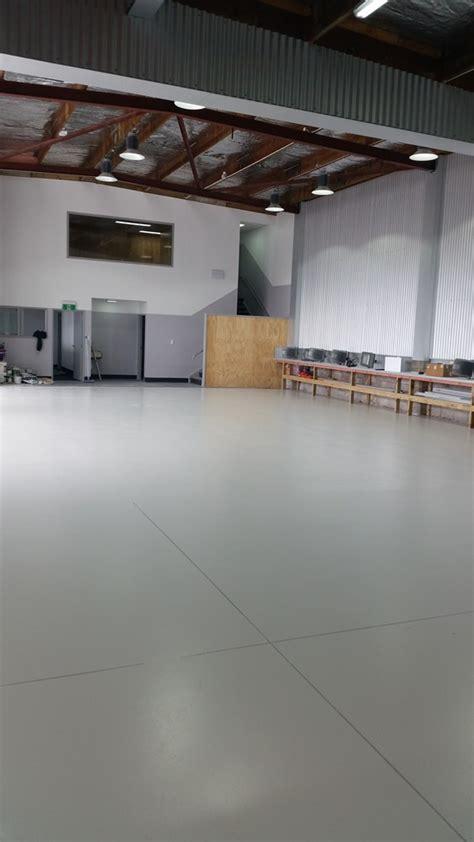 ssangyong workshop epoxy floor coatings sealcrete nz